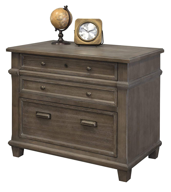Martin Furniture IMCA450 Lateral File, Weathered Dove