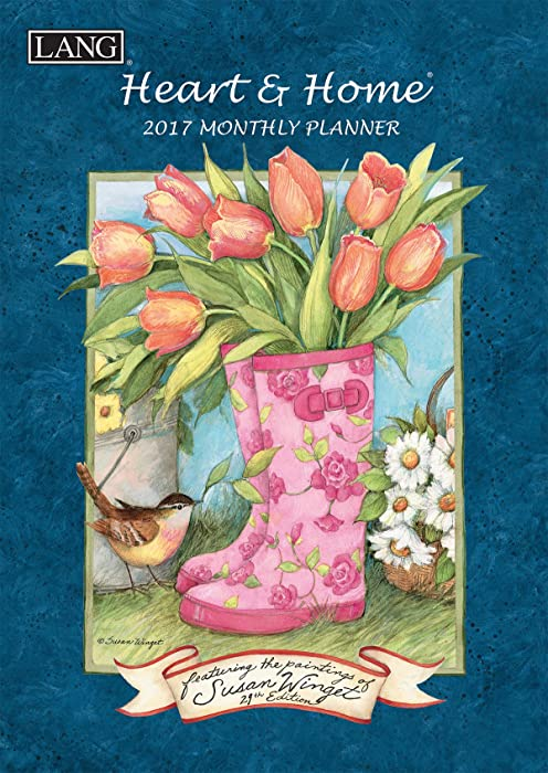 Lang 2017 Heart & Home Monthly Planner, 8.5 x 12 inches (17991012098)