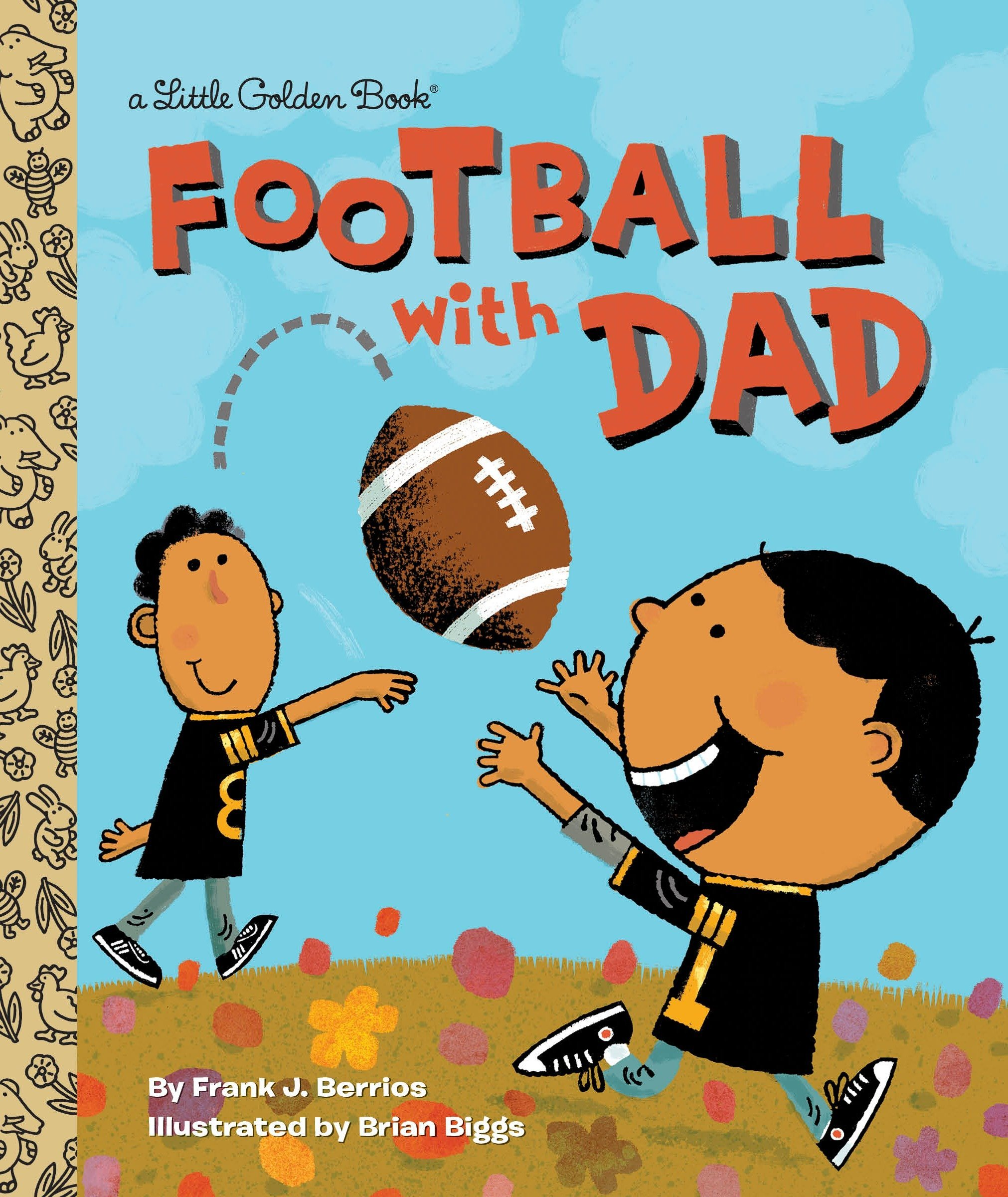 Football Dad Little Golden Book product image