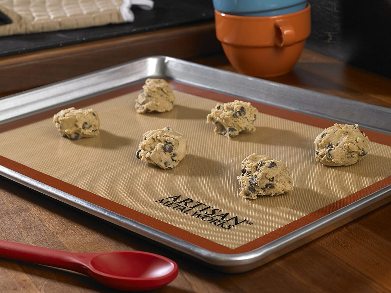 Artisan 2 Pk Non Stick Silicone Baking Mat Set 16 5 8 X 11 Amazonca Home Kitchen