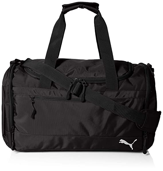 bc19054ed907 PUMA Men's Aesthetic Duffel, black, One Size: Amazon.ca: Clothing ...