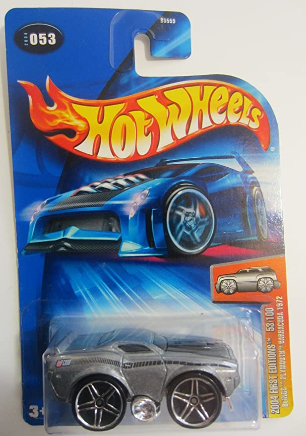2004 FIRST EDITIONS BLINGS ORANGE PLYMOUTH BARRACUDA CUDA HOT WHEELS 1//64 CAR