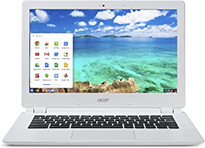 Acer Chromebook 13 inch CB5-311-T9Y2 13.3 inch NVIDIA Tegra K1 CD570M-A1 2.1GHz/ 4GB DDR3L/ 16GB eMMC/ USB3.0/ Chrome Notebook (White)