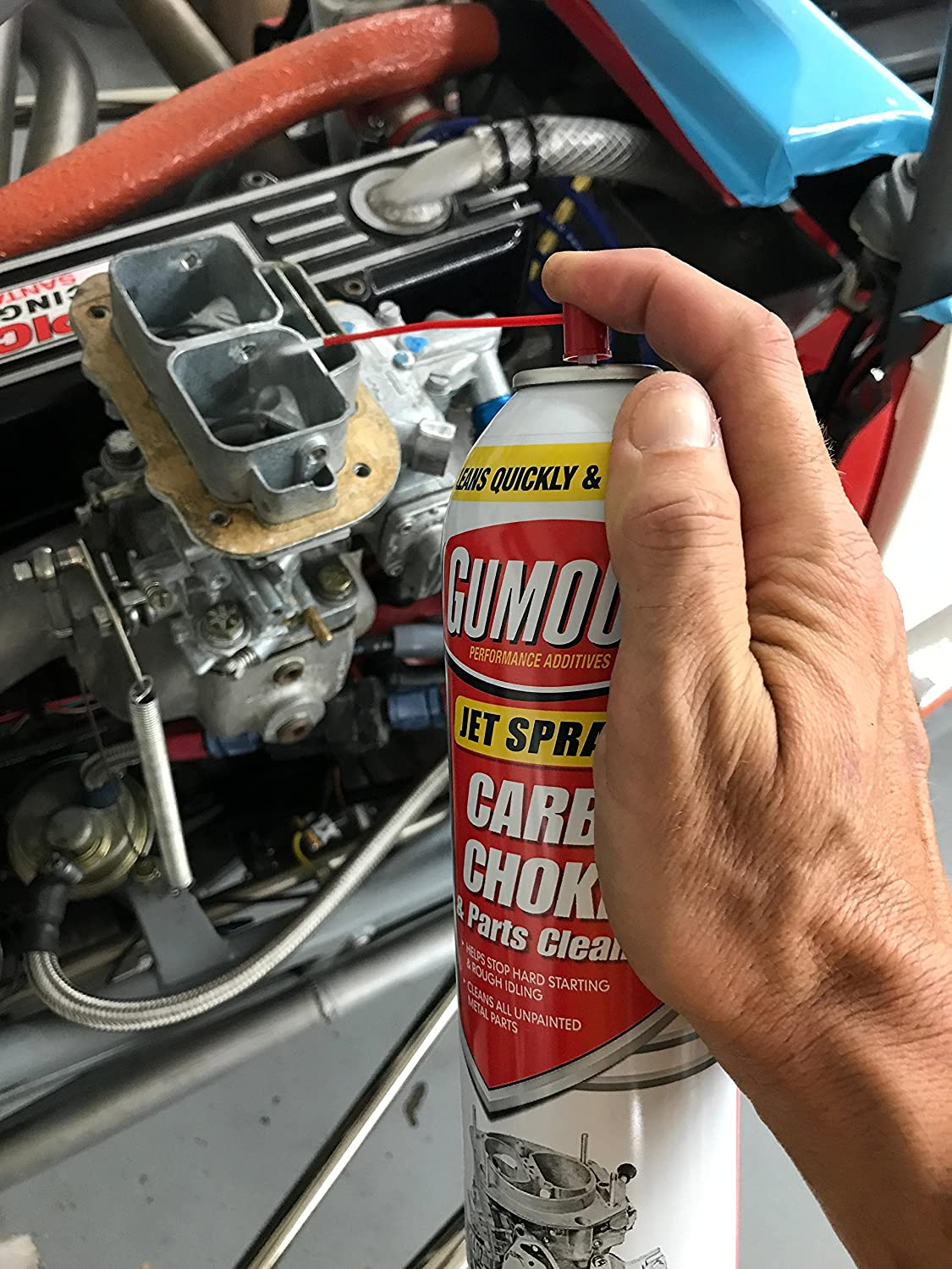 Gumout 800002231 Carb and Choke Cleaner, 14 oz