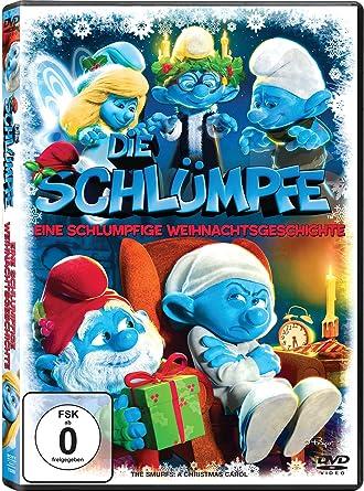 Weihnachtsgeschichte Beleuchtung   Die Schlumpfe Eine Schlumpfige Weihnachtsgeschichte Amazon De