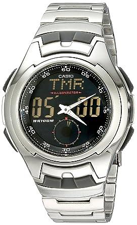 Luminescent Sport Watch Stainless Steel Aq160wd Digi Electro Casio Men's 1bv Ana uTc3FKl1J