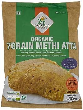 24 Mantra Methi Atta, 1kg