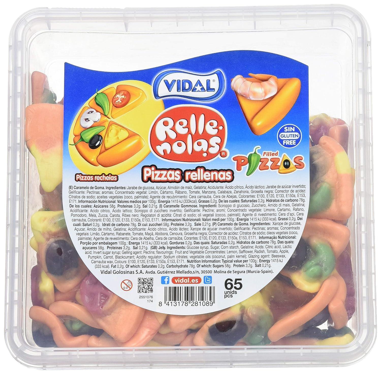 Vidal Golosinas Sabor Fresa con Forma de Porción de Pizza ...