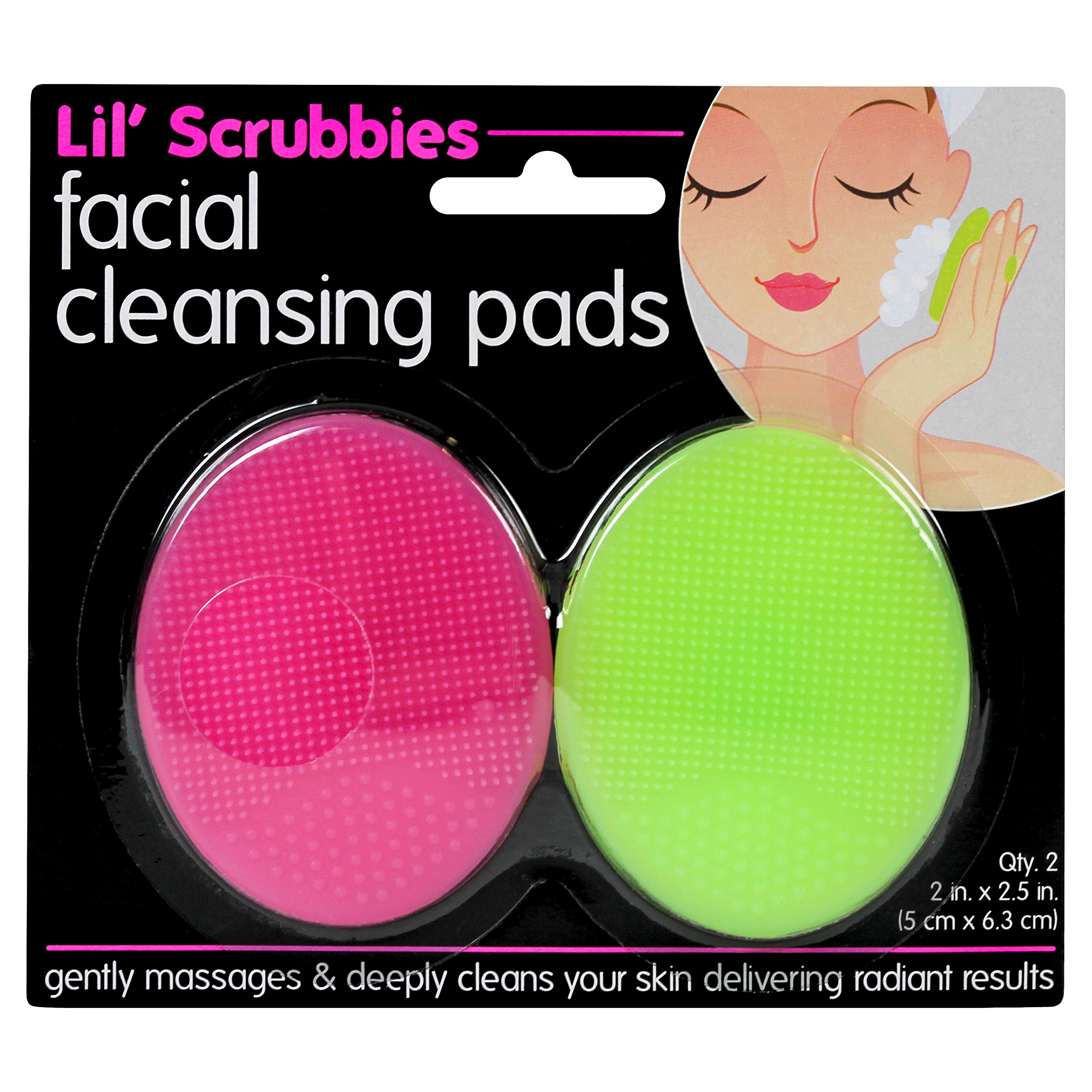 Baby Blue Soft Silicone Facial Cleaning Pad Brush Cosmetic for Women [ Huxley ] Secret of Sahara Cream  Fresh and More 50ml / 1.69fl. oz., By glow recipe huxley