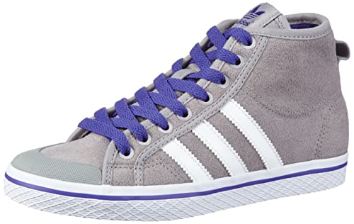 adidas Originals HONEY STRIPES M, Sneaker a collo alto donna, Grigio (Grau (