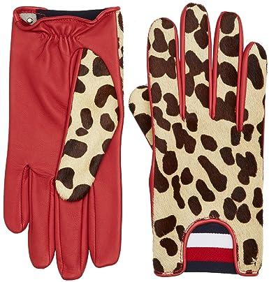 Tommy Hilfiger Leopard Gloves Gants Femme