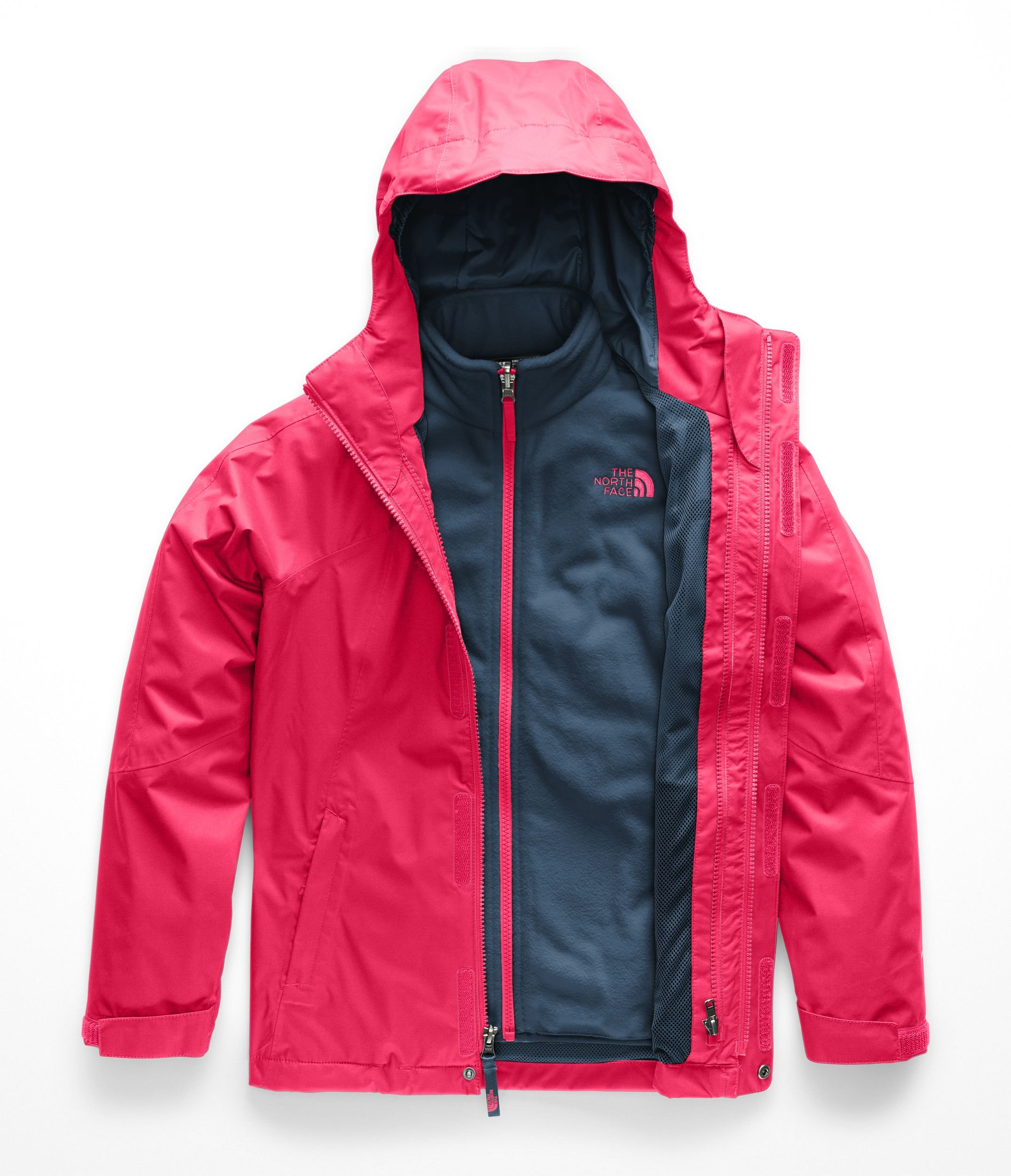 The North Face Girl's Mt View Triclimate Jacket - Atomic Pink - L