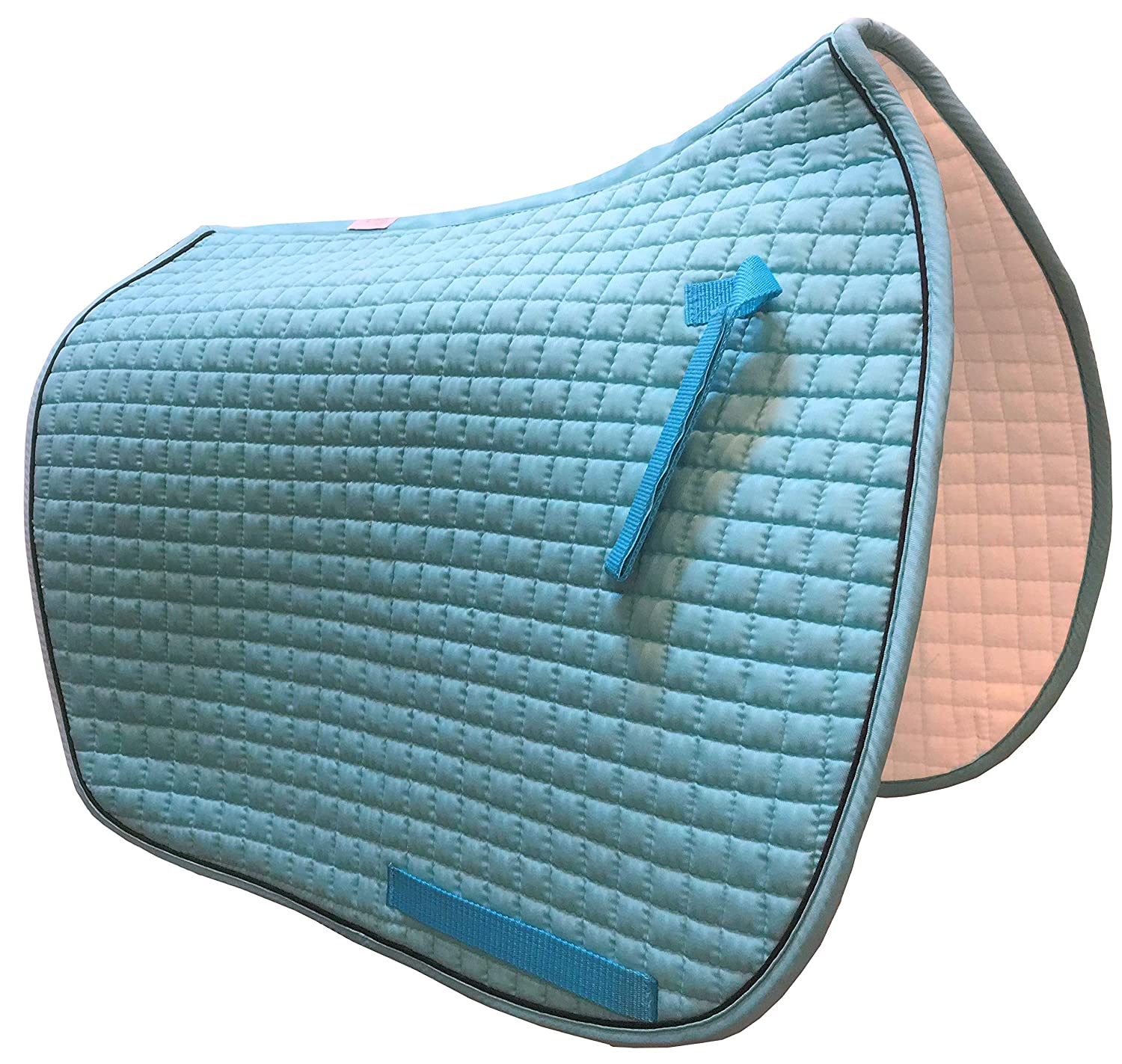Box-Quilted Cotton//Foam Huge Selection of Colorful Dressage Saddle Pads PRI Pacific Rim