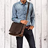 LEABAGS Oxford - Messenger Bag Briefcase Laptop Bag