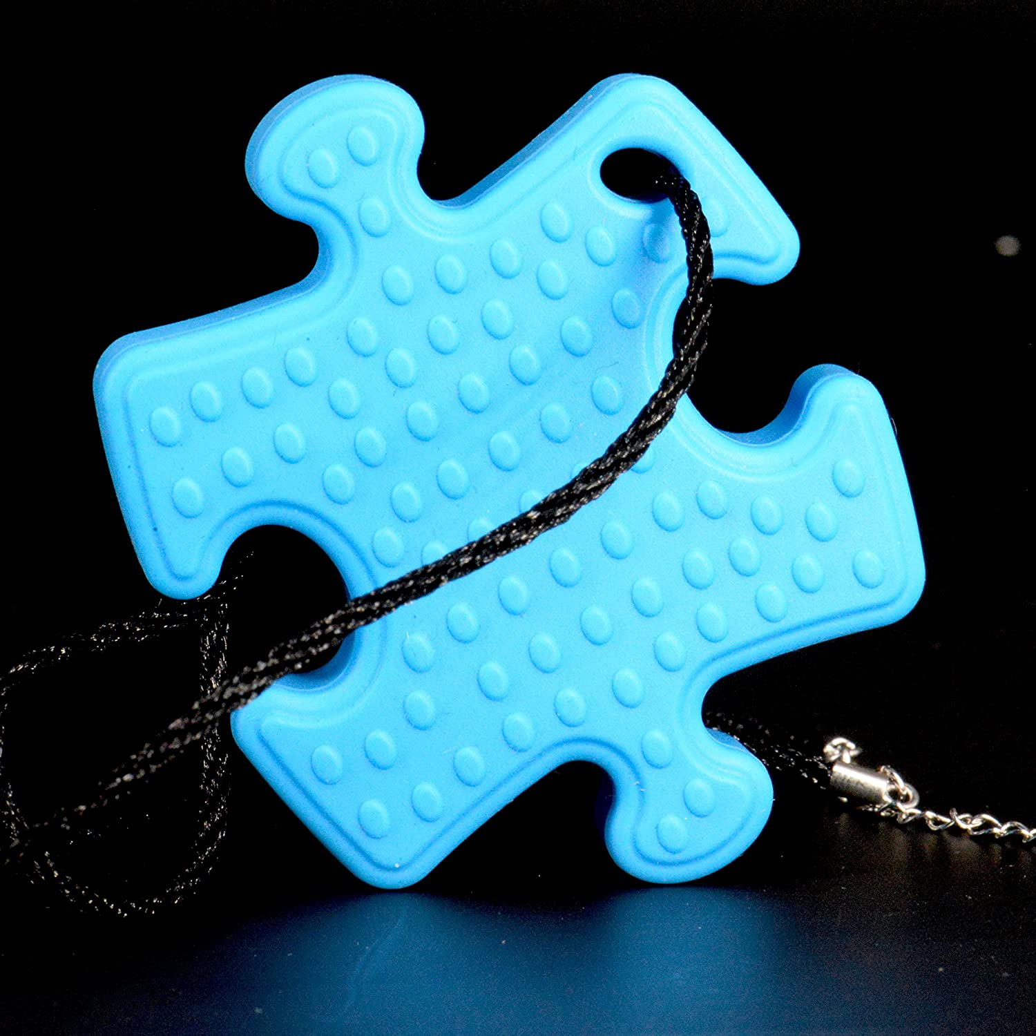 Puzzle Piece Necklace Chess Piece Pencil Topper 1 ADHD // Autism // High-Activity who need Fidget Toys 1 - Silicone Bracelet Teething /& Chew Toys for Babies or Kids Yabber HB.YBBR-11-2017-04 1