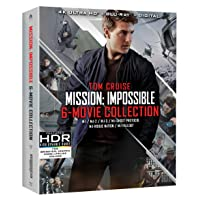 Mission: Impossible 6 Movie Collection 4K Ultra HD Deals
