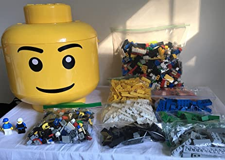 Amazon.com: Large Lego store & sort head with 4 pounds lbs authentic ...