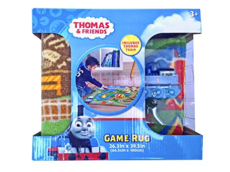 Thomas And Friends Game Rug With Thomas Train   26.3 In. X 39.5 In.
