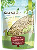 Canadian Organic Hemp Seeds by Food to Live (Raw Hearts, Hulled, Non-GMO, Kosher, Bulk) — 1 Pound