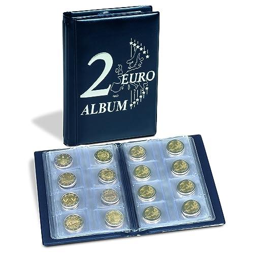 Münzenalbum Münzalbum Mit 10 Münzhüllen Für 200 Stück 2 Euro Münzen