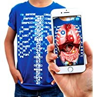 Virtuali-Tee Curiscope Lehrreiches Augmented-Reality-T-Shirt  