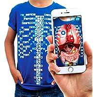 Curiscope Virtuali-tee | Camiseta Educativa de Realidad Aumentada