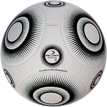 Millenti Knuckle-It Pro Balón de fútbol iTraditional: Amazon.es ...