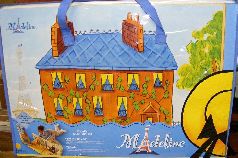amazon com madeline doll pop up house 2003 dollhouse toys u0026 games