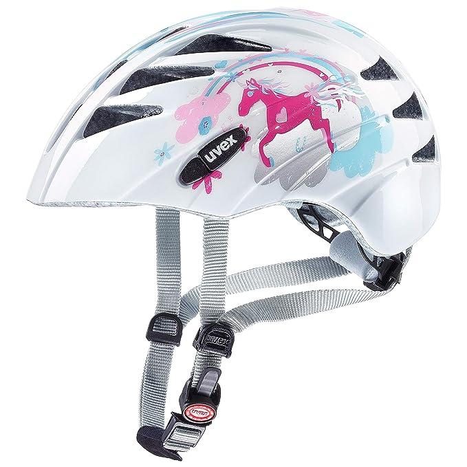 Uvex Finale Junior Kinder Fahrrad Helm Gr 51-55cm weiß//pink 2020