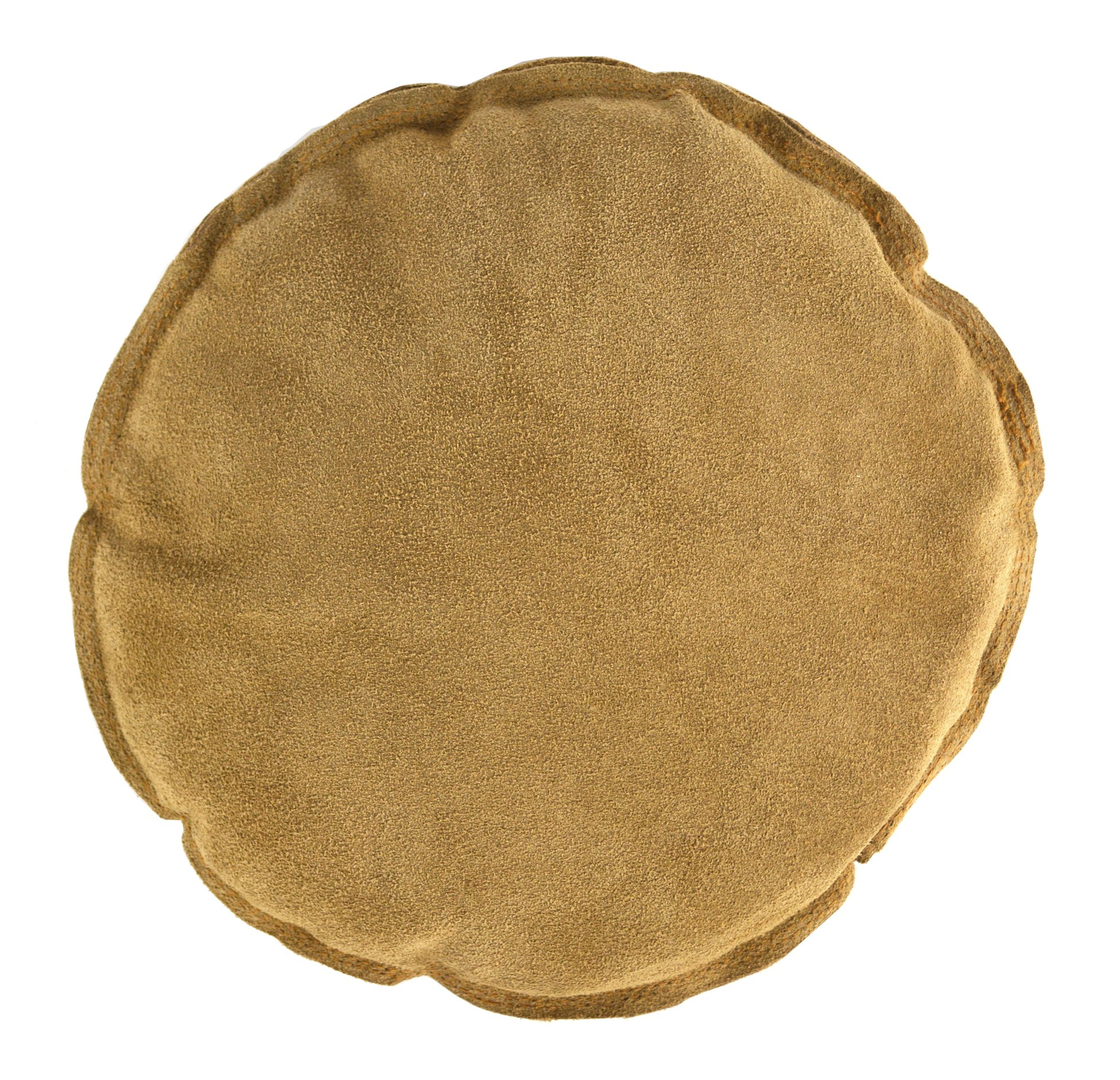 10'' Diameter Round Leather Leather Sandbag Cushion for Metal Dapping Stamping Hammering Chasing Forming Jewelry Tool
