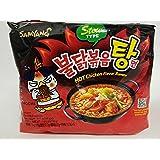 Samyang Hot Chicken Flavor Ramen Stew Type (Soup) 145g (Pack of 5)