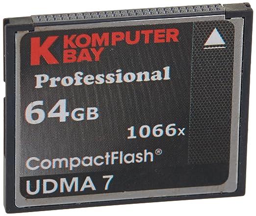 287 opinioni per Komputerbay 64GB Professional Compact Flash scheda 1066X CF scrivere 155MB/s