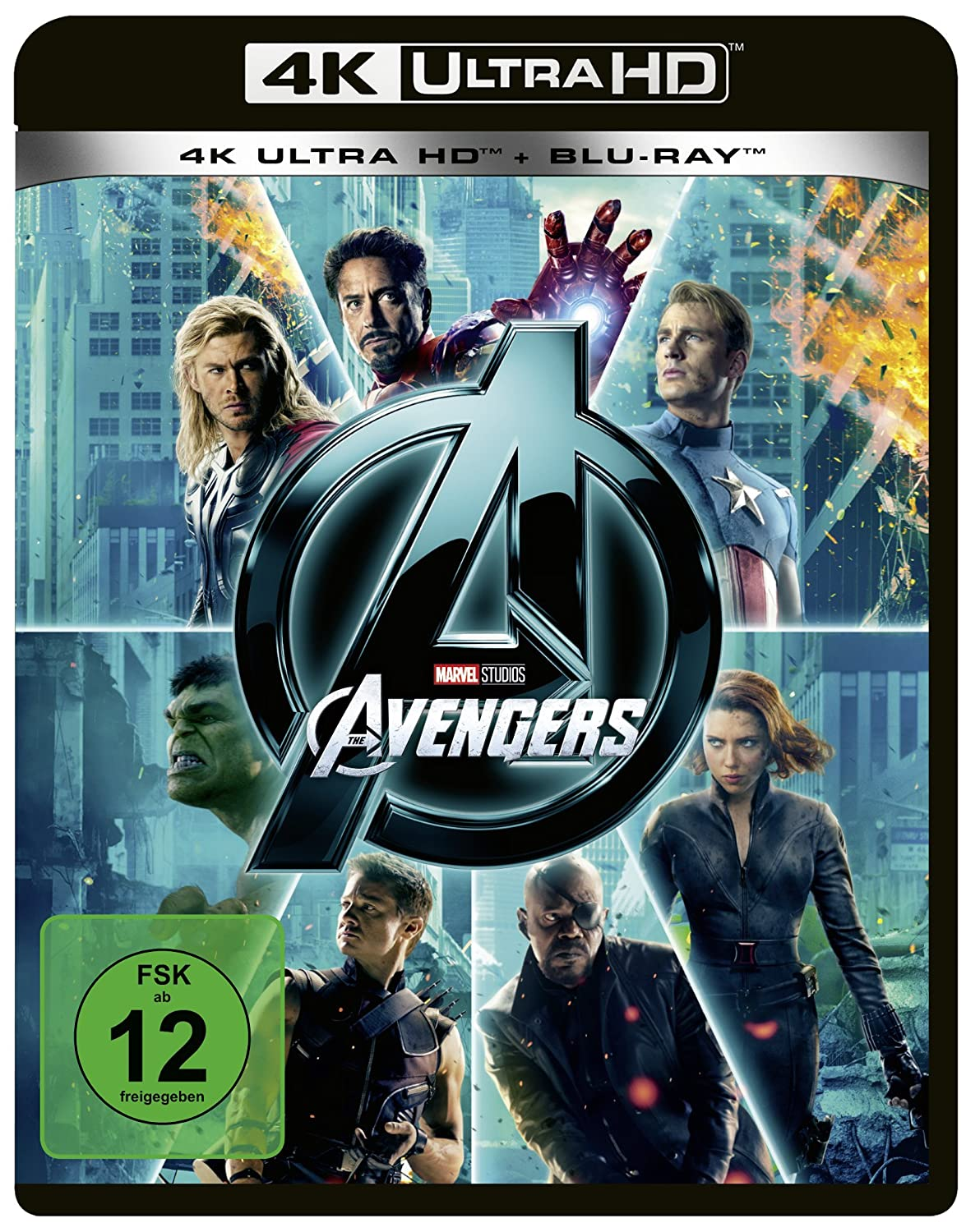 Marvels The Avengers 4K Ultra HD + Blu-ray 2D Alemania Blu-ray ...