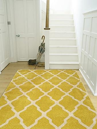 Polypropylen Teppich benuta teppiche teppich lotus gelb 120x170 cm schadstofffrei