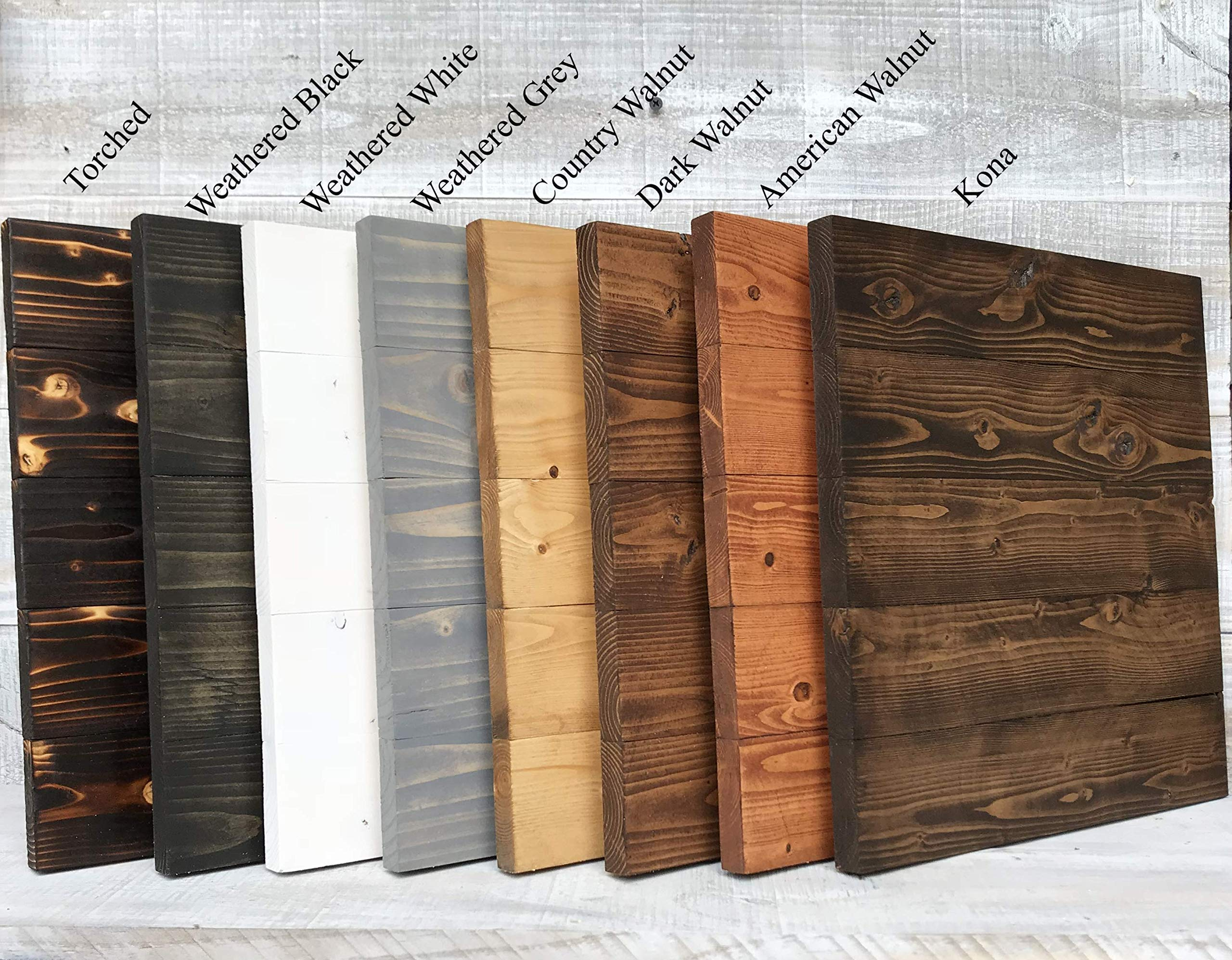 Rustic Pallet Wood Canvas   Wood Sign Blank   Wedding Sign   100% Handmade in the USA with FSC-Certified Wood