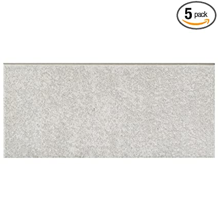 Somertile Frc8twgb Fifties Ceramic Bullnose Floor And Wall Trim Tile