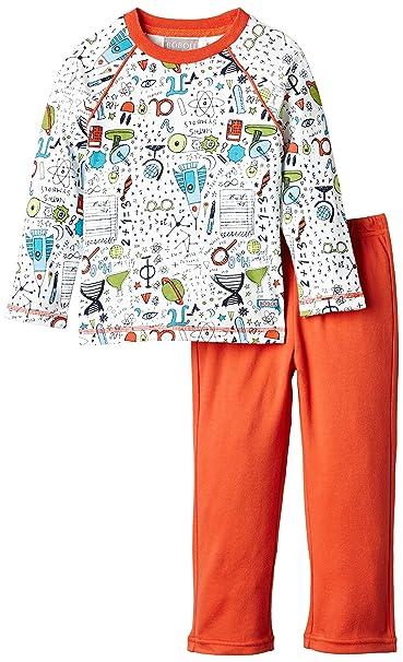 boboli Pijama Interlock - Pijama para Bebés, Color Estampado Cohetes, Talla 3 Años