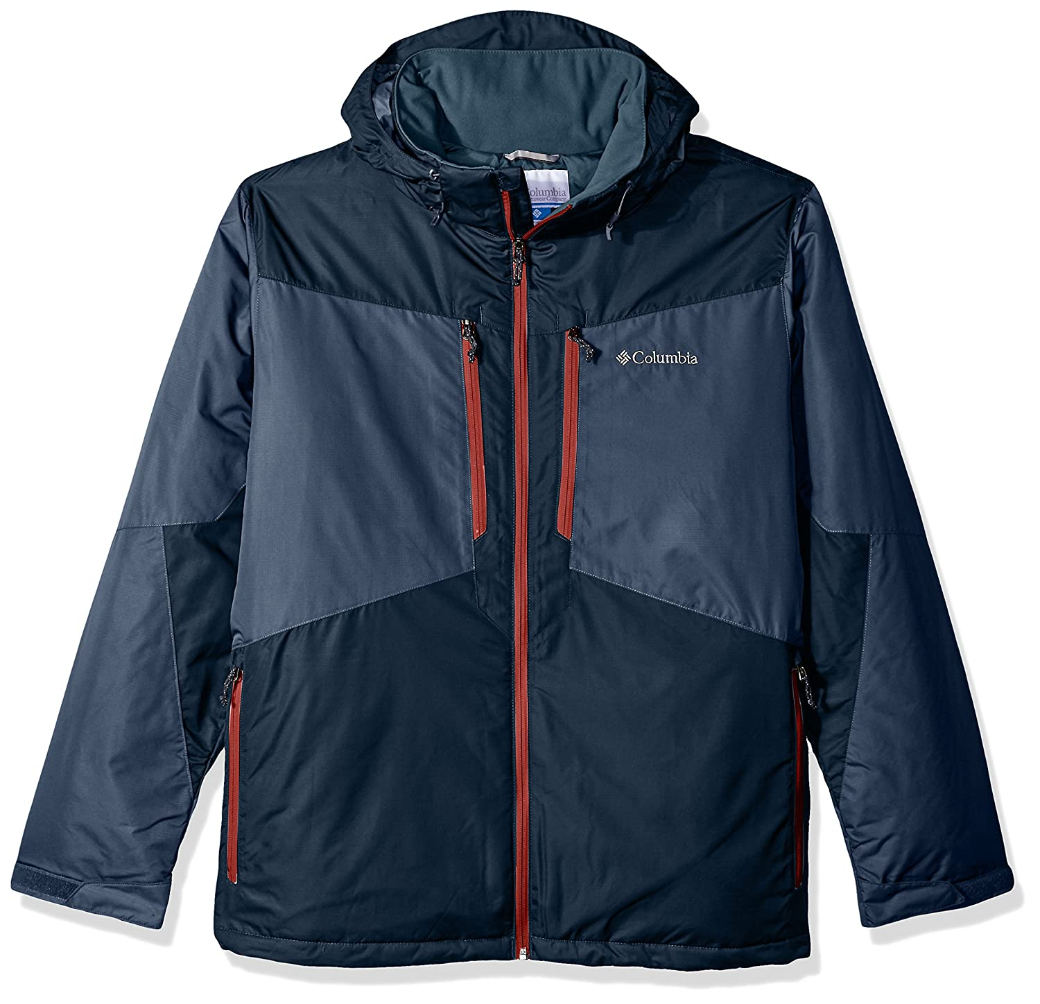 Mystery, Collegiate Navy Large Tall Columbia Men's Ski Jacket