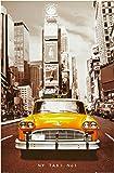 1art1 40950 Nueva York - Póster de taxi n.º 1 (91 x 61 cm)