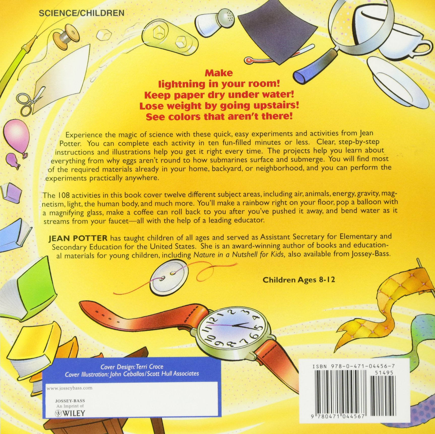 science in seconds for kids over 100 experiments you can do in