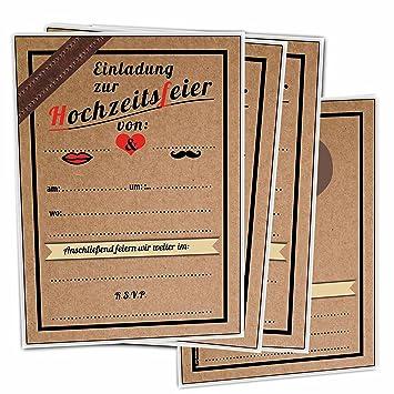 Einladungskarten Hochzeit Vintage Ohne Text Unbedruckt Leer Blanko