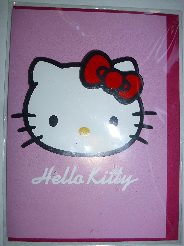 Hello Kitty tarjeta de cumpleaños tarjeta de felicitación ...