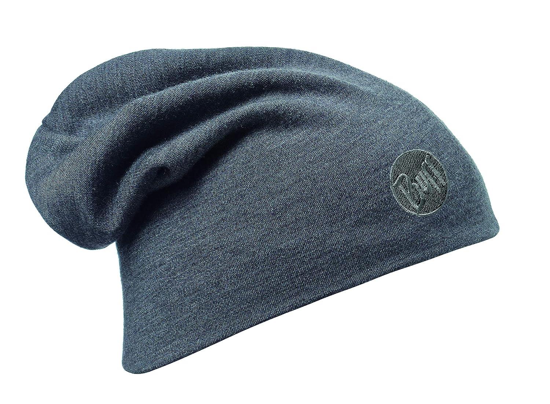 Buff Heavy Merino Wool Loose Cappello, Uomo, Blu/Denim, Taglia Unica 111170.788.10.00