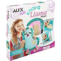 ALEX DIY Knot-a Llama Plush, Purple