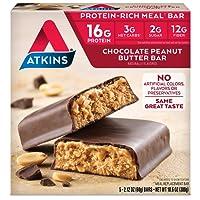 Atkins Advantage Bar Chocolate Peanut Butter, Chocolate Peanut Butter 5 Pack