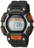 Amazon Price History for:Casio Men's STL-S110H-1ACF Tough Solar Runner Digital Black and Orange Watch