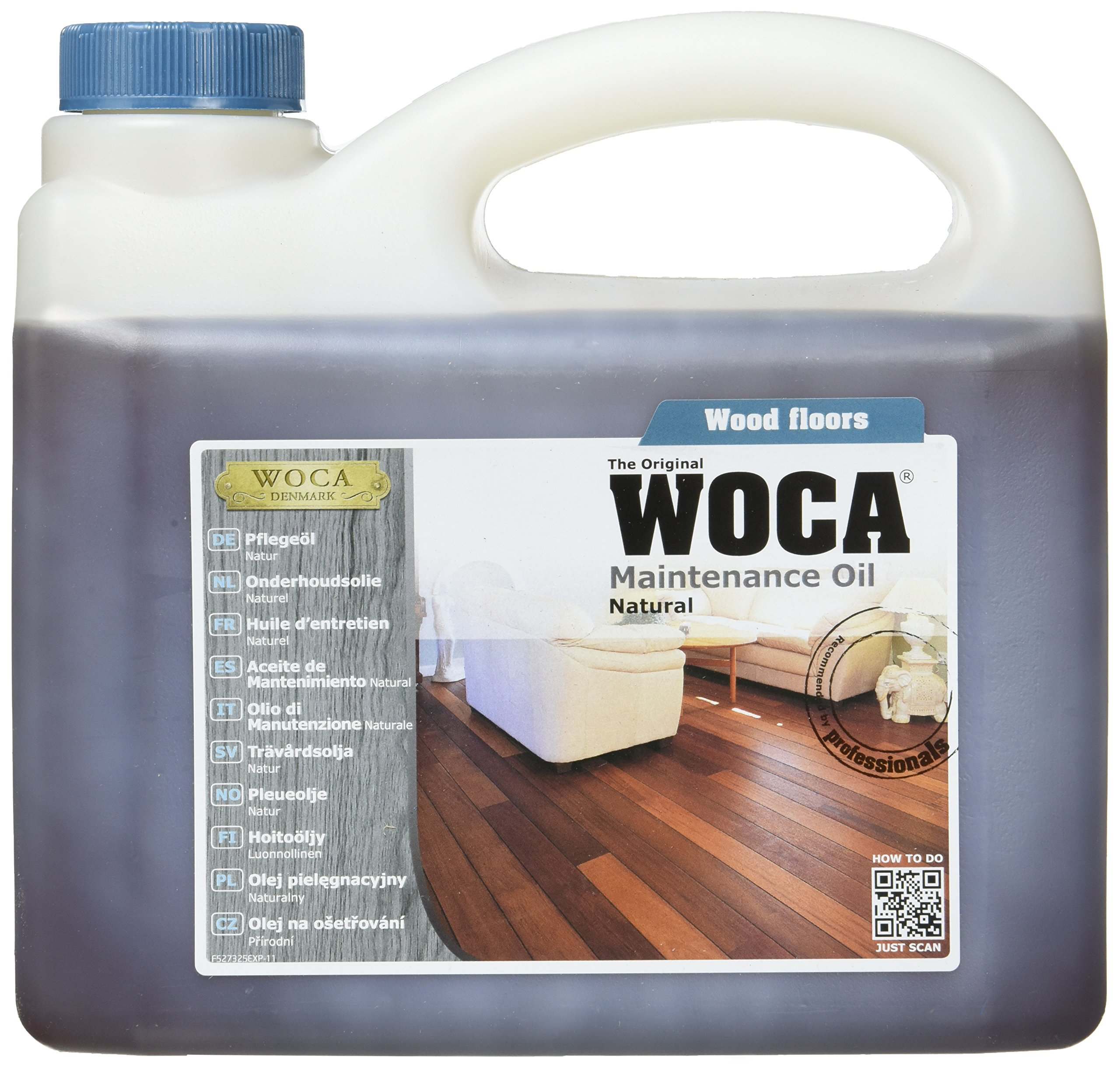 Woca Maintenance Oil - Natural (2.5 liter) by Woca (Image #1)