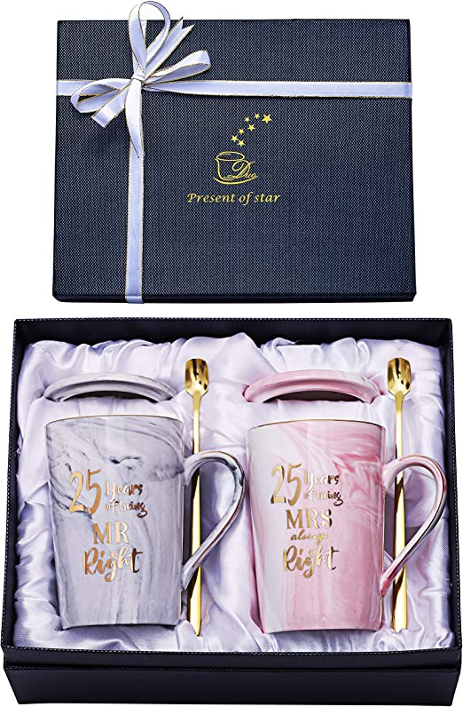 Amazon Com 25th Anniversary Gifts For Couple 25th Wedding