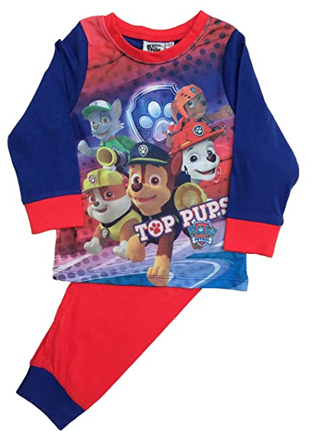 Boys And Girls Kids Baby Toddler Long Sleeve Pyjama 18//24 Months to 4//5 Years
