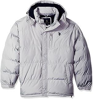 U.S. Polo Assn. Mens Big-Tall Classic Short Bubble Jacket U.S. Polo Assn. Big & Tall Outerwear 10-5575B-Q8